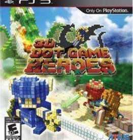 Playstation 3 3D Dot Game Heroes