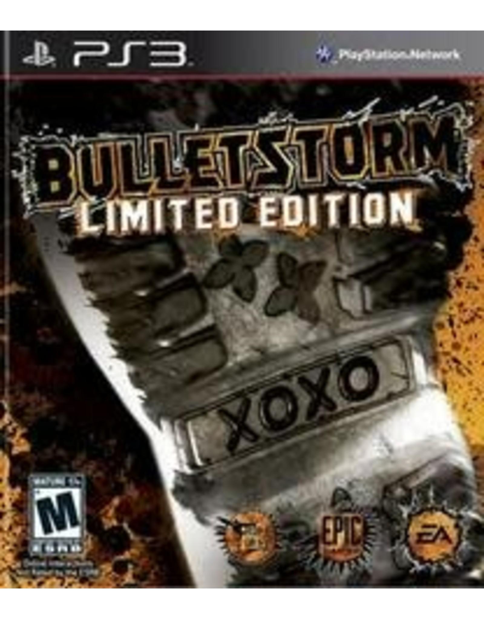 Playstation 3 Bulletstorm Limited Edition (CIB)