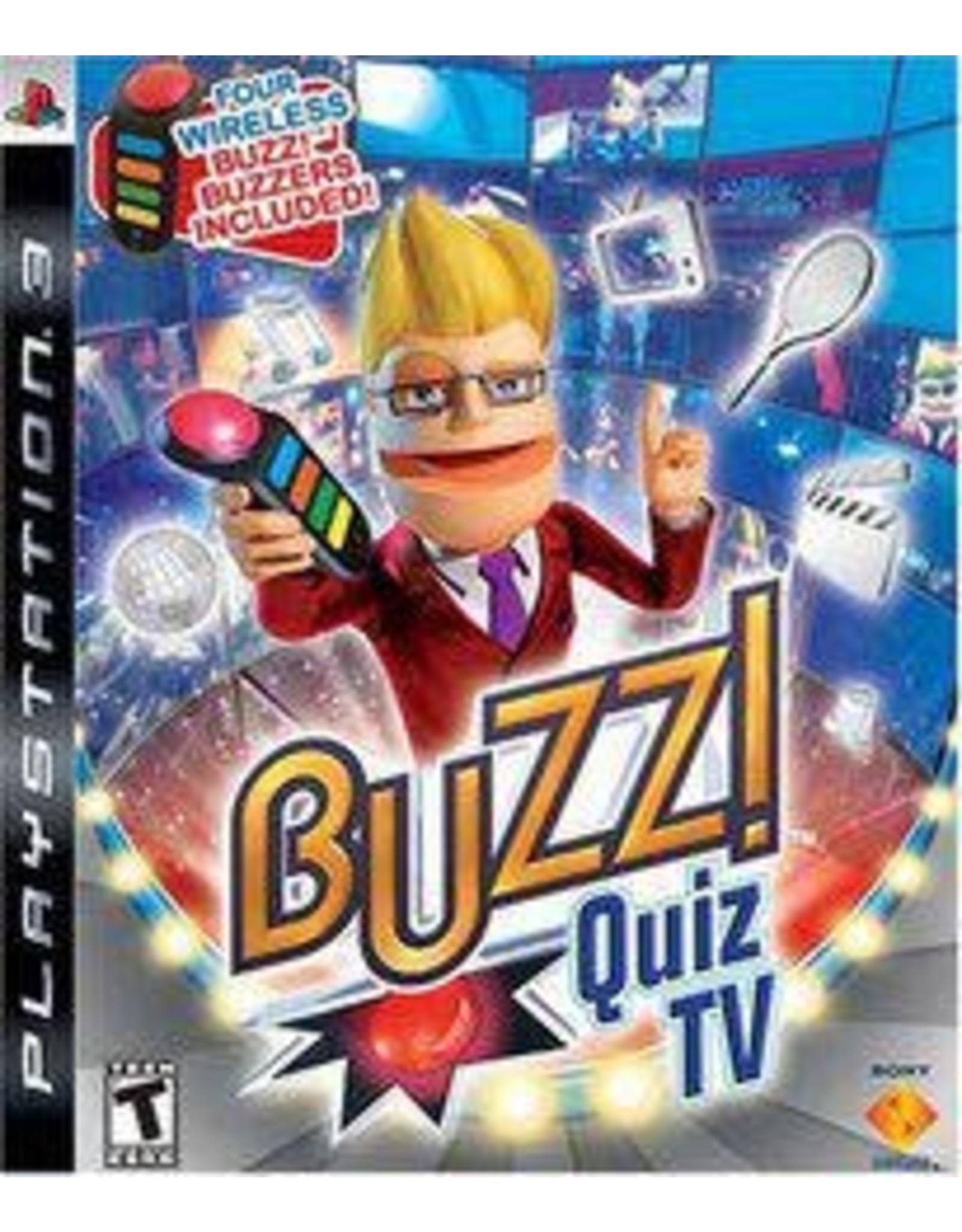 Playstation 3 Buzz! Quiz TV