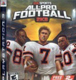 Playstation 3 All Pro Football 2K8 (CIB)