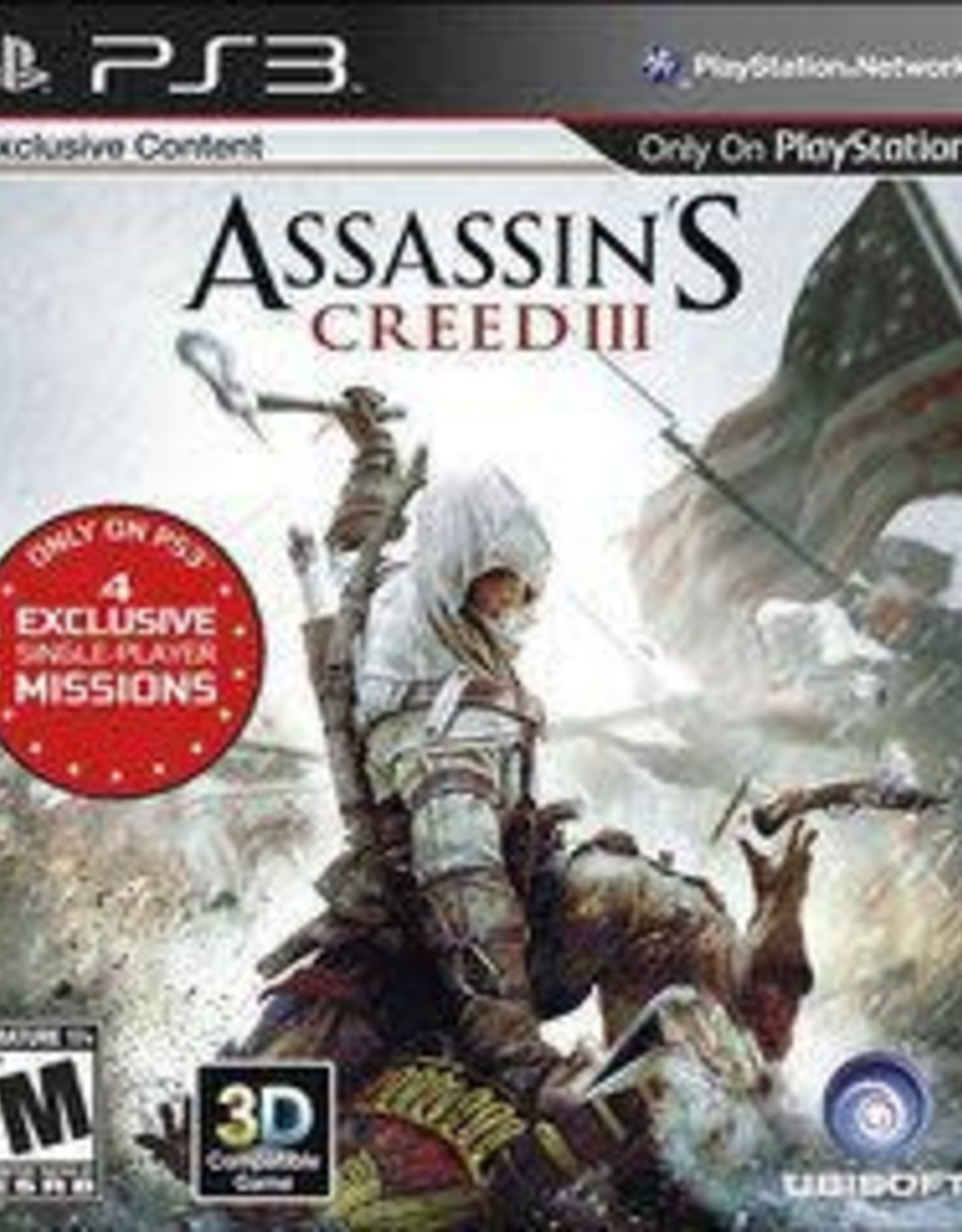 Playstation 3 Assassin's Creed III