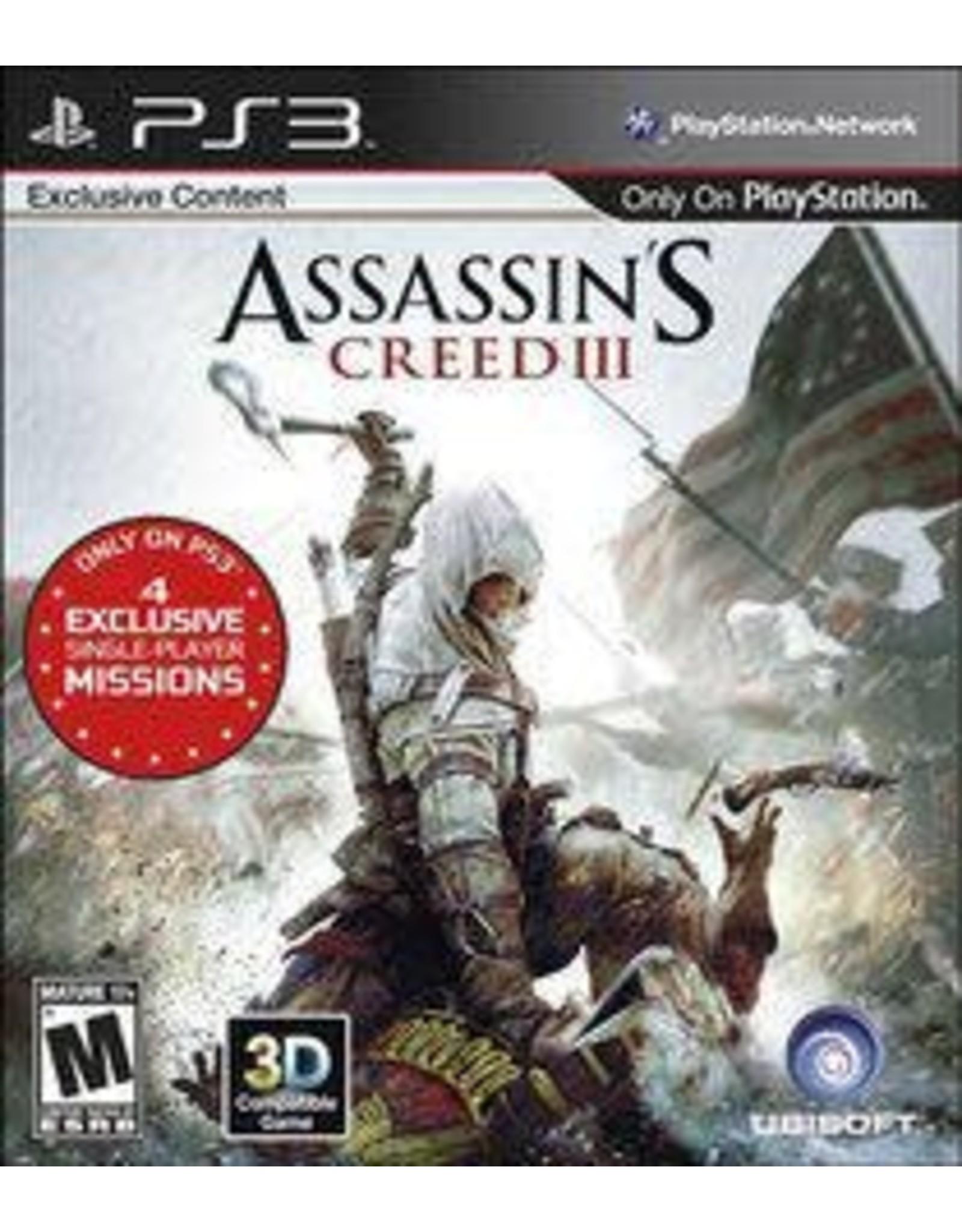 Playstation 3 Assassin's Creed III (CiB)