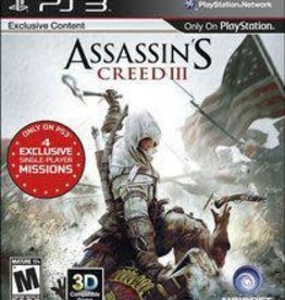 Playstation 3 Assassin's Creed III