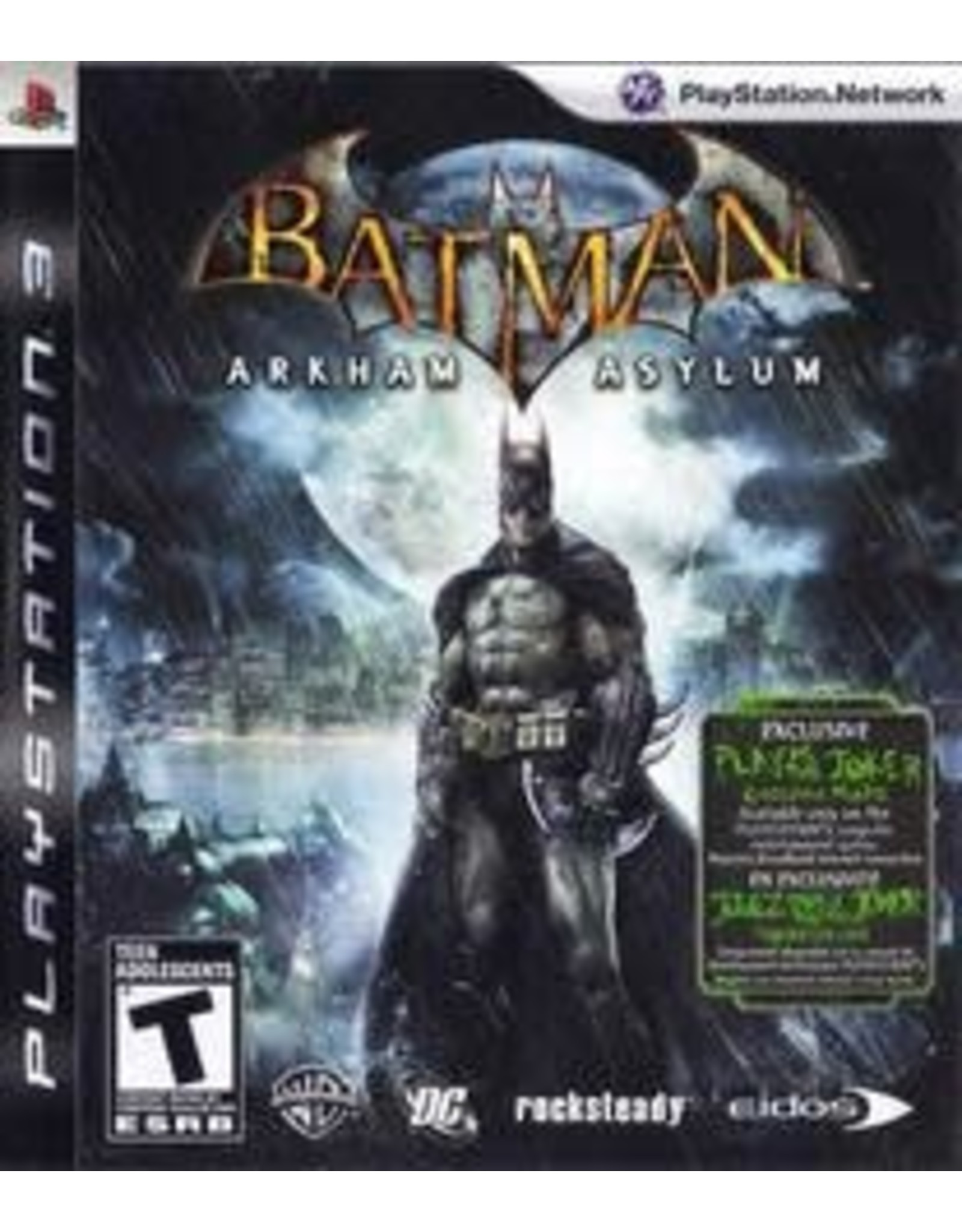 Playstation 3 Batman: Arkham Asylum (CIB)