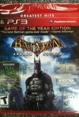 Playstation 3 Batman: Arkham Asylum Game of the Year Edition