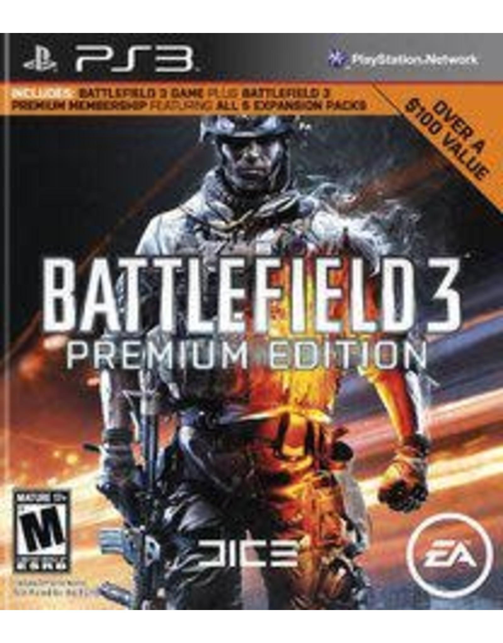 Playstation 3 Battlefield 3 Premium Edition (No DLC)