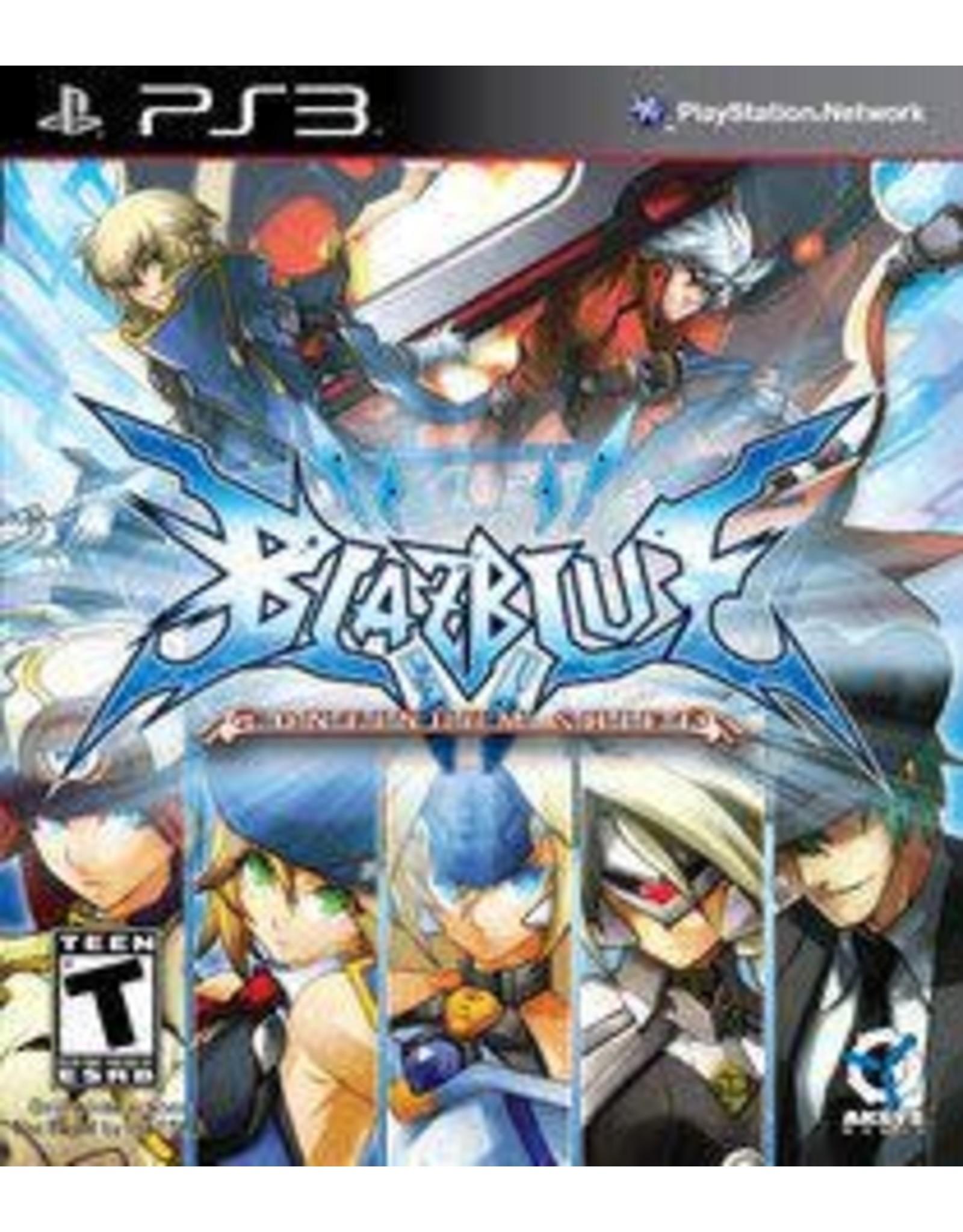 Playstation 3 BlazBlue: Continuum Shift