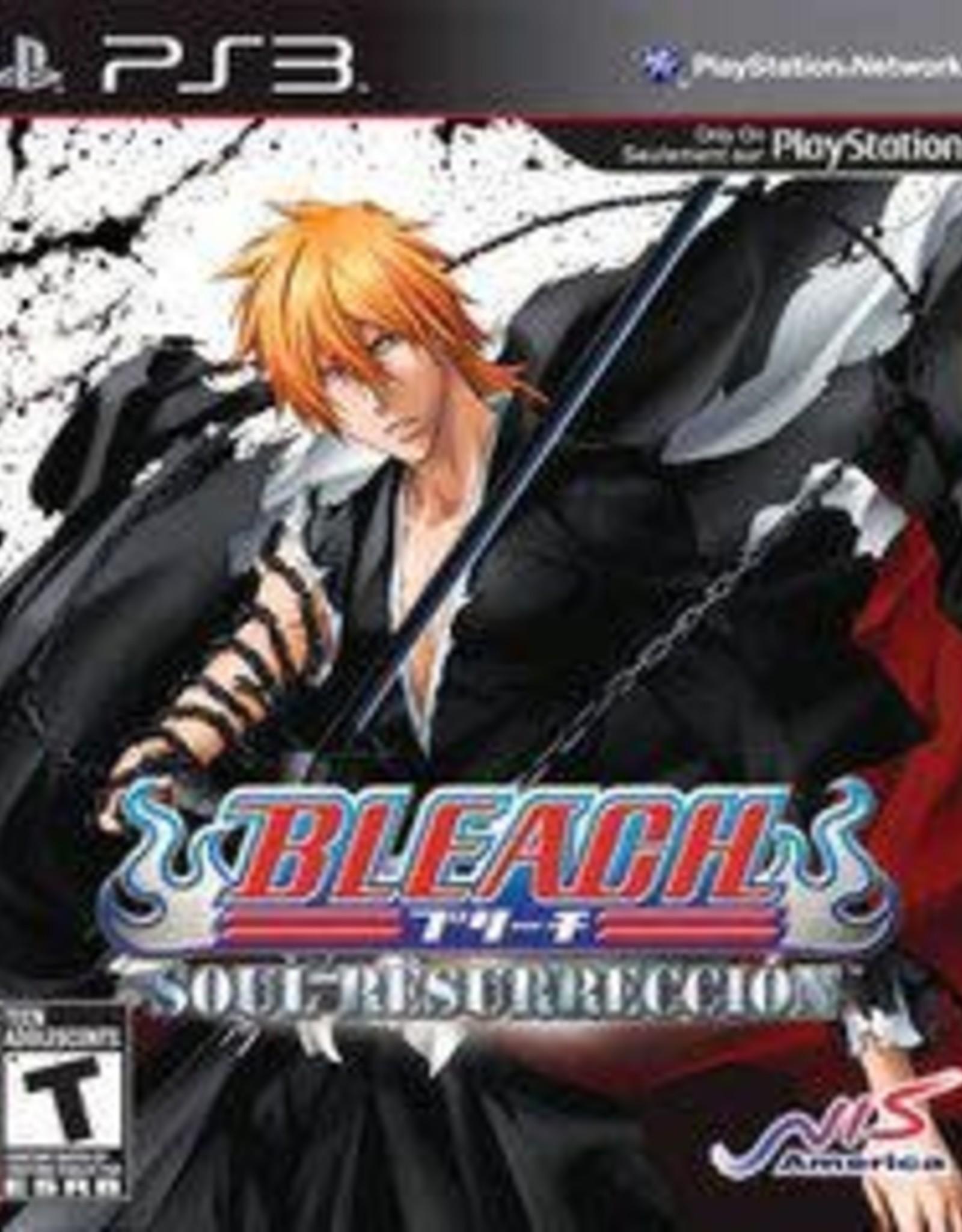 Playstation 3 Bleach: Soul Resurreccion (CIB)