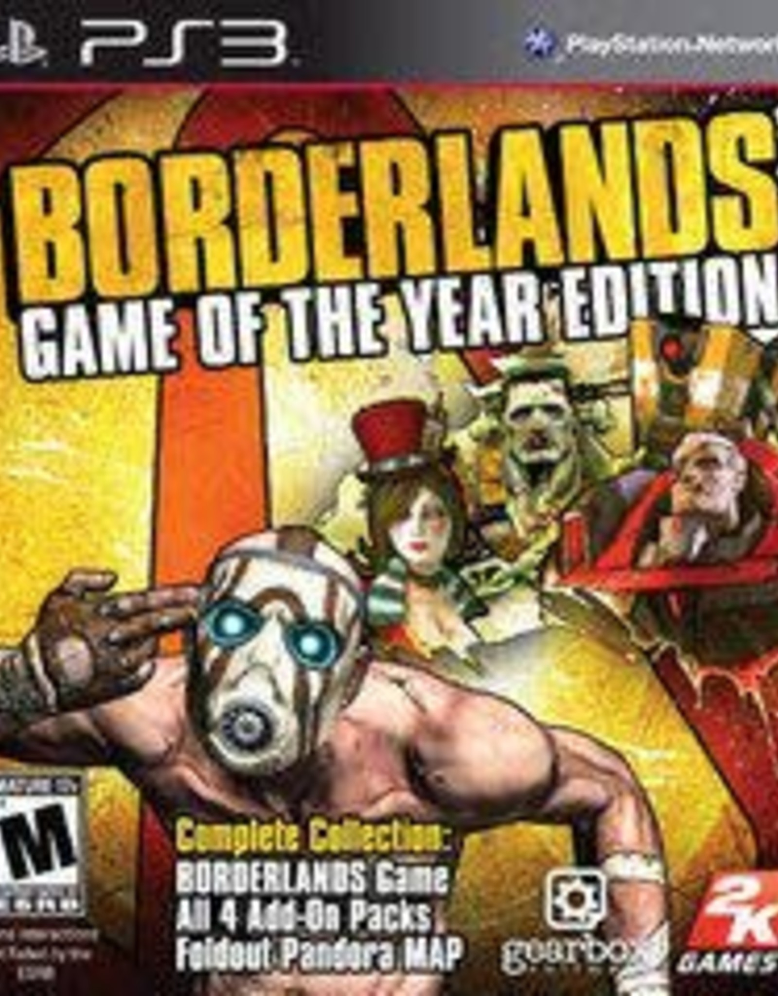 Playstation 3 Borderlands Game of the Year Edition
