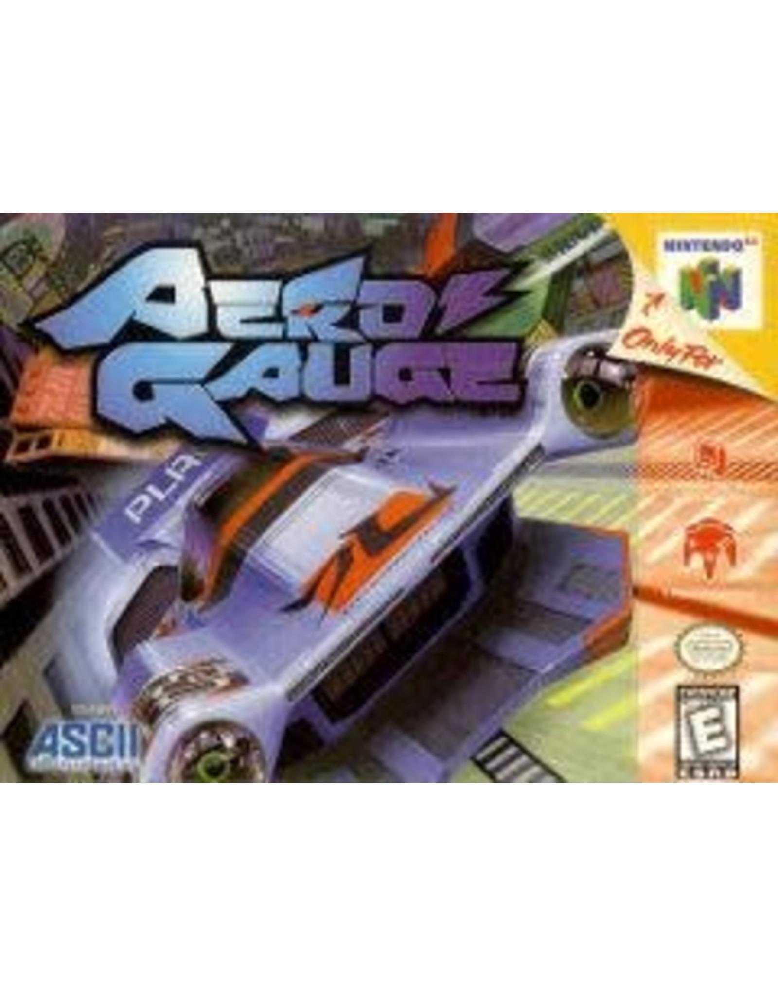 Nintendo 64 Aero Gauge (Cart Only)