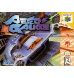 Nintendo 64 Aero Gauge (Cart Only)