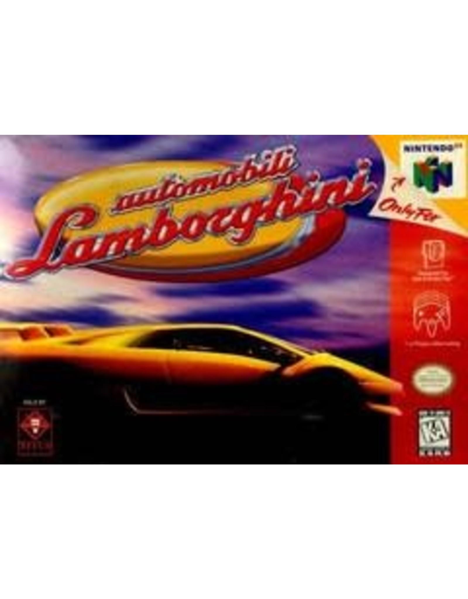 Nintendo 64 Automobili Lamborghini (Cart Only)