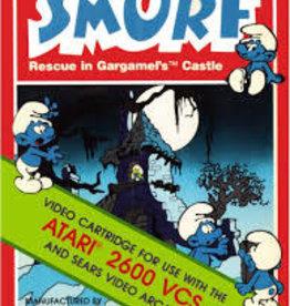 Atari 2600 Smurf Rescue in Gargamel's Castle (Damaged Box, No Manual)