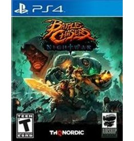 Playstation 4 Battle Chasers: Nightwar