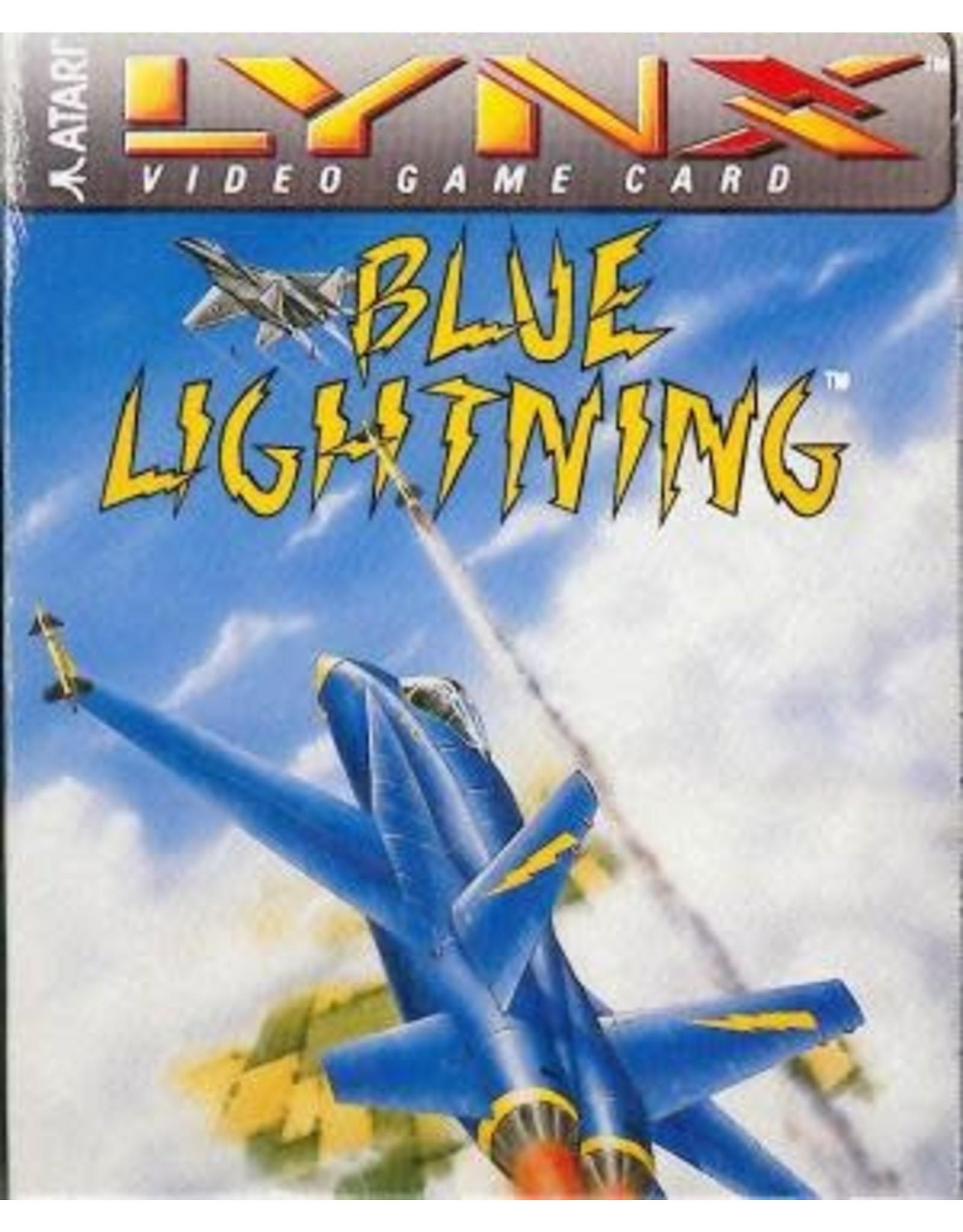 Atari Lynx Blue Lightning (Cart Only)