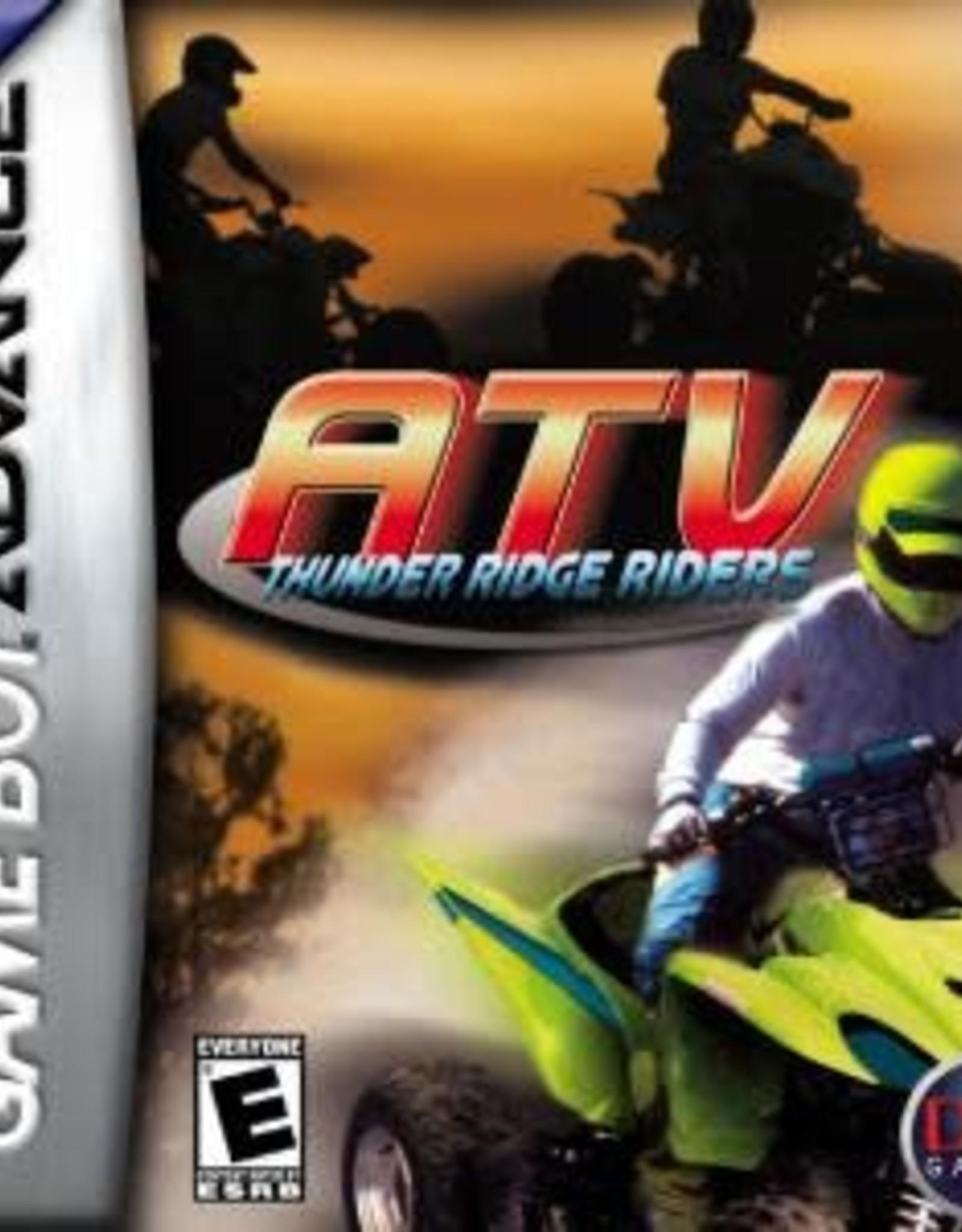 GameBoy Advance ATV Thunder Ridge Riders (Cart Only)