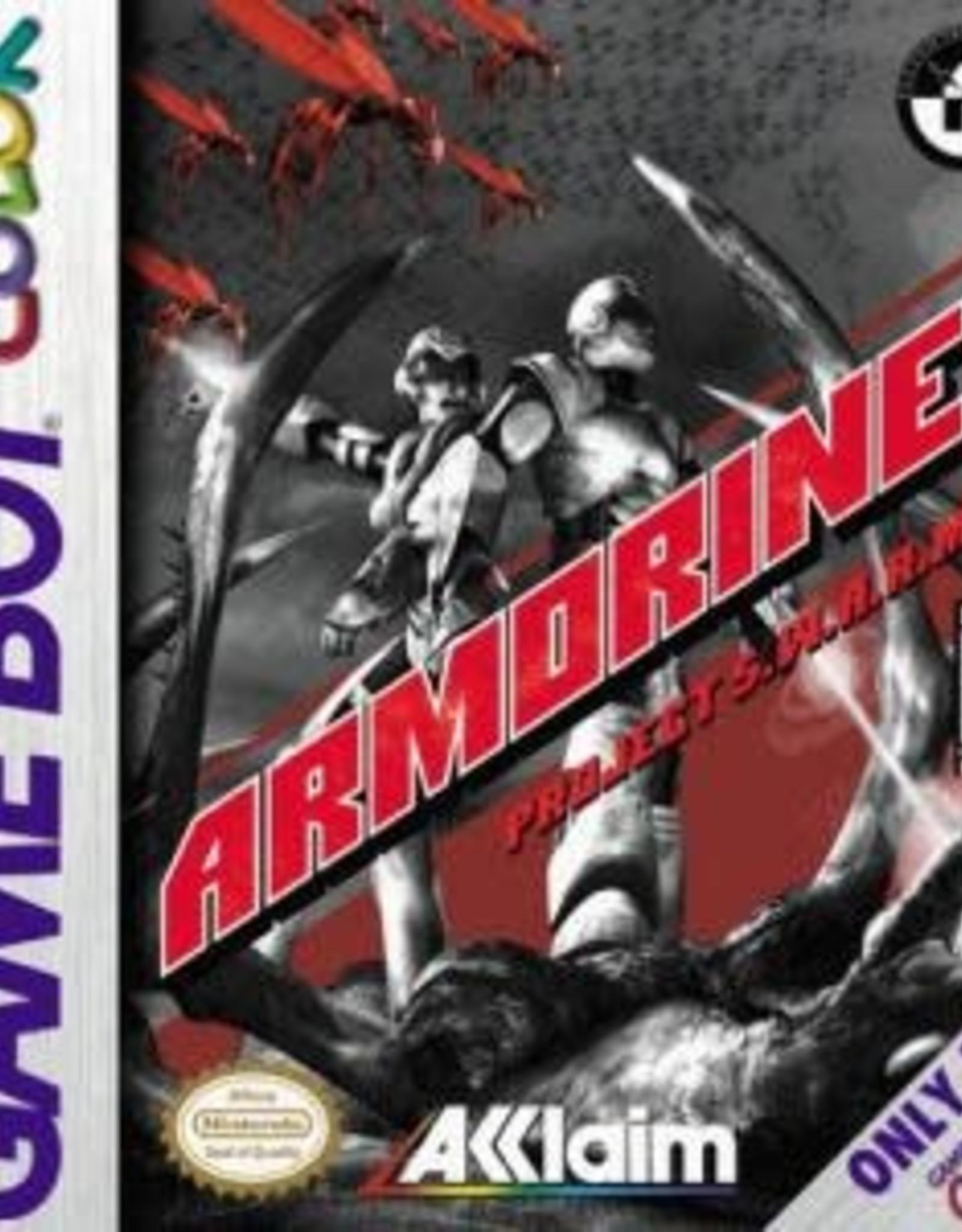 GameBoy Color Armorines Project SWARM