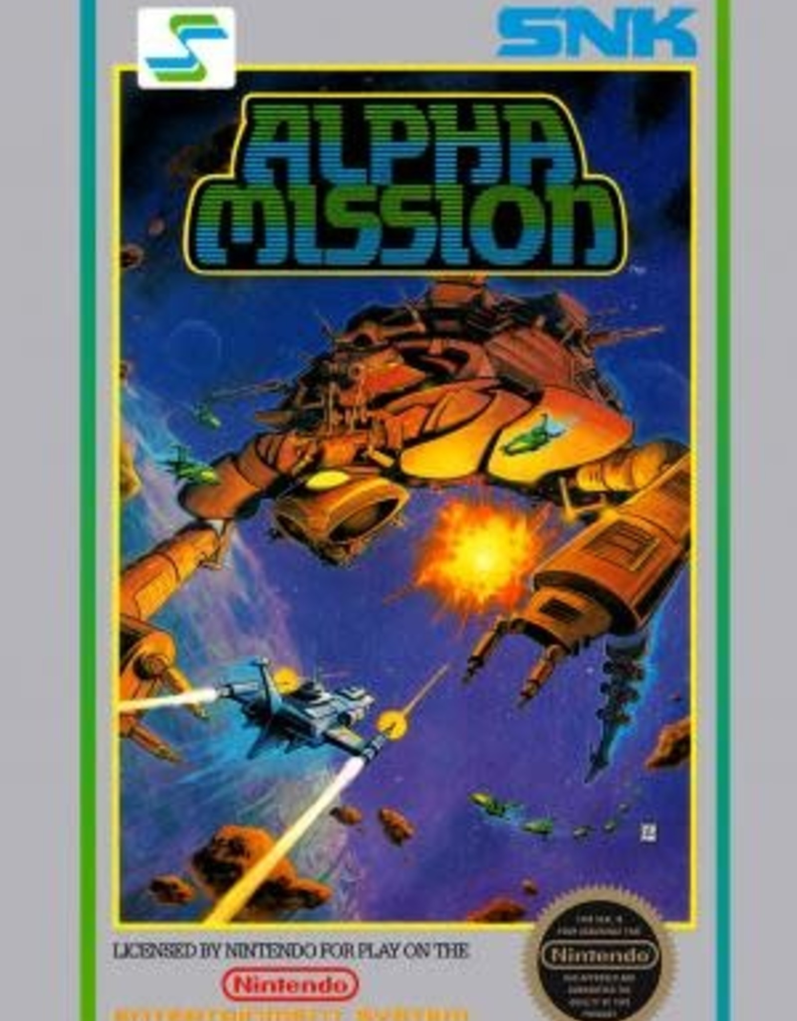 NES Alpha Mission (Cart Only)