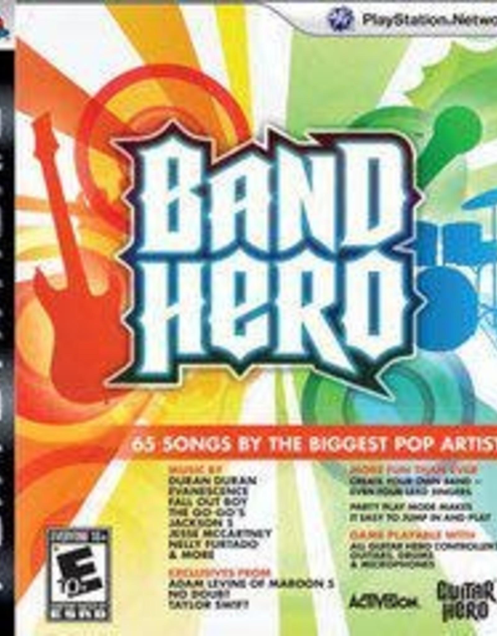 Playstation 3 Band Hero