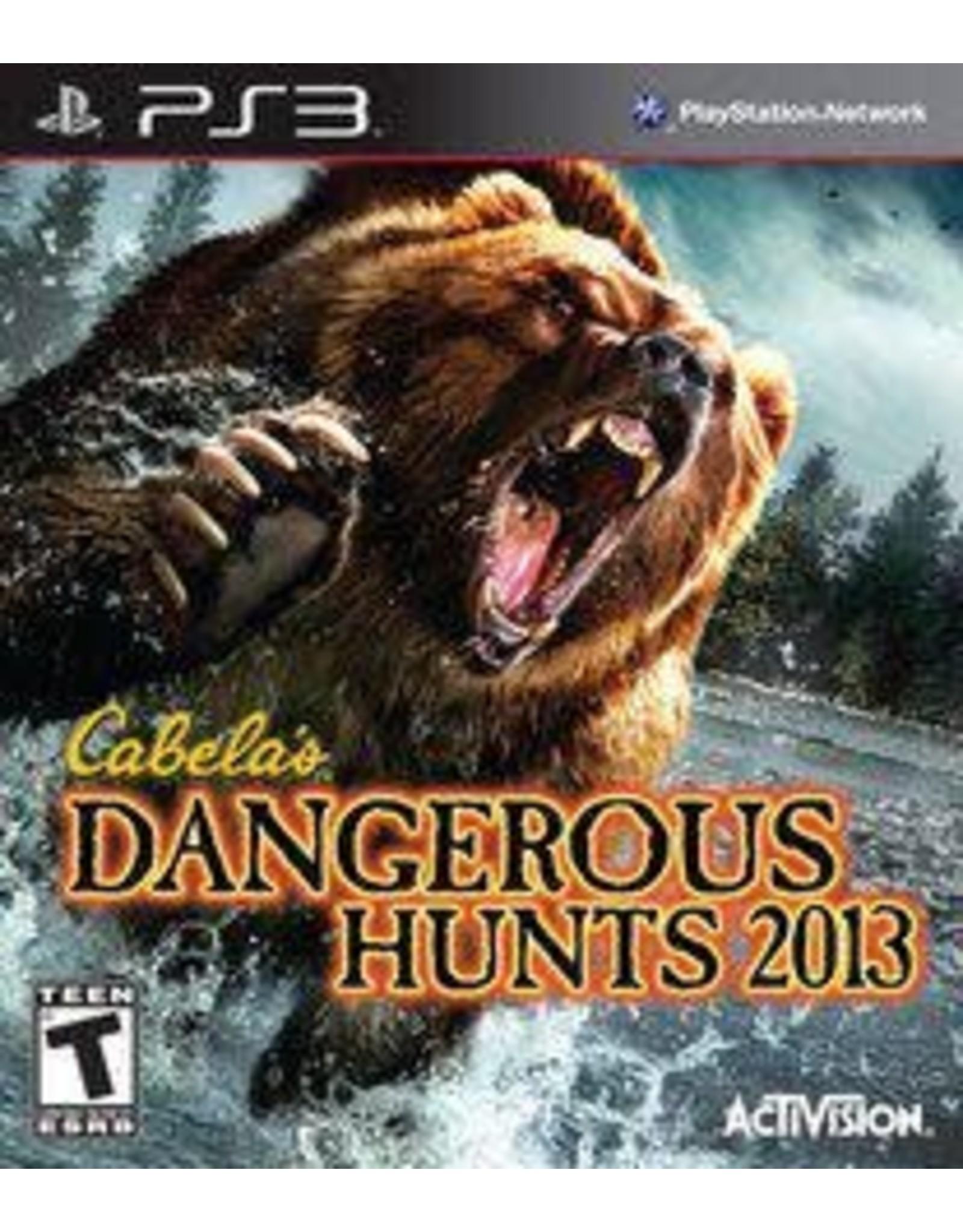 Playstation 3 Cabela's Dangerous Hunts 2013 (CiB)