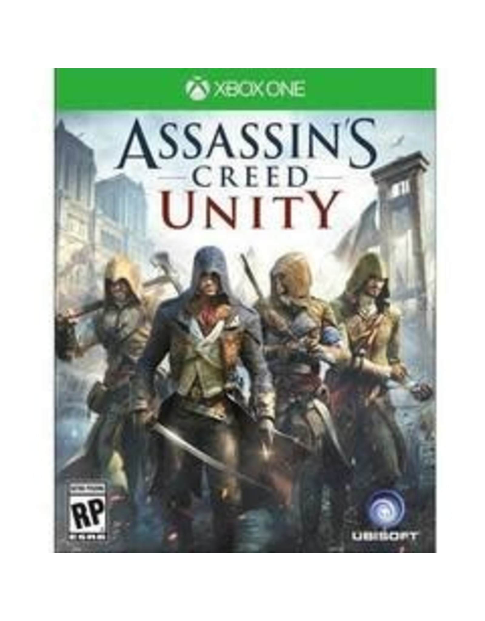 Xbox One Assassin's Creed: Unity (Used)