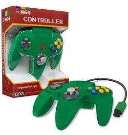 Nintendo 64 N64 Nintendo 64 Controller (Cirka, Green)