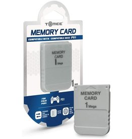 Playstation Playstation ONE PSX PS1 1M Memory Card (Tomee)