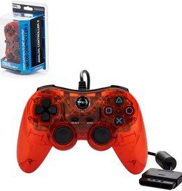 Playstation 2 PS2 Playstation 2 Analog Controller (TTX, Orange)
