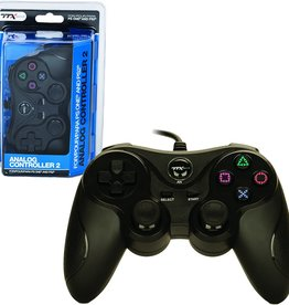Playstation 2 PS2 Playstation 2 Analog Controller (TTX, Black)
