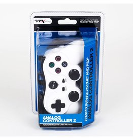 Playstation 2 PS2 Playstation 2 Analog Controller (TTX, White)