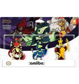 Amiibo Shovel Knight Amiibo 3-Pack