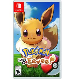 Nintendo Switch Pokemon Let's Go Eevee (USED)