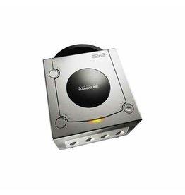 Gamecube Gamecube Console (Platinum, Black Controller, Used)