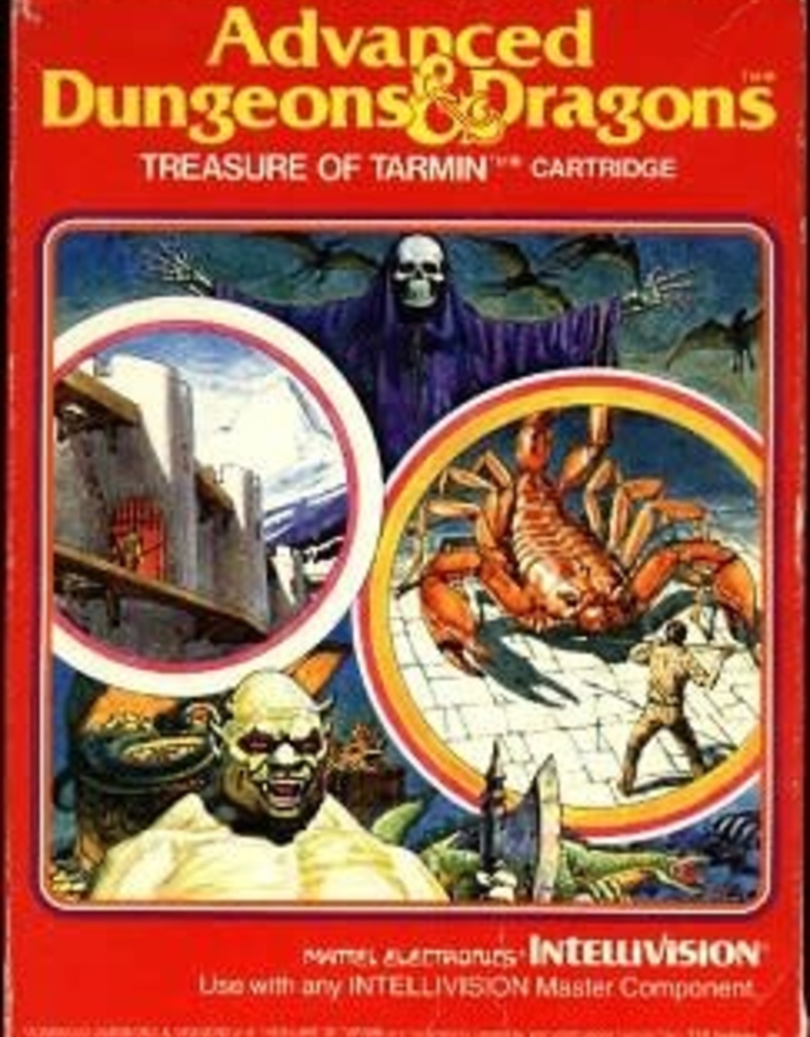 Intellivision Advanced Dungeons & Dragons: Treasure of Tarmin (CIB)