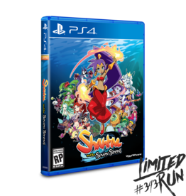 Nintendo Switch Shantae and the Seven Sirens Standard Edition (LRG) Preorder *ONE COPY PER CUSTOMER*