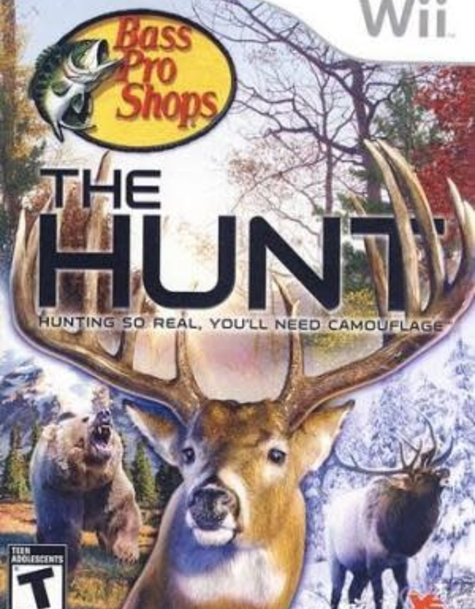 Wii Bass Pro Shops: The Hunt