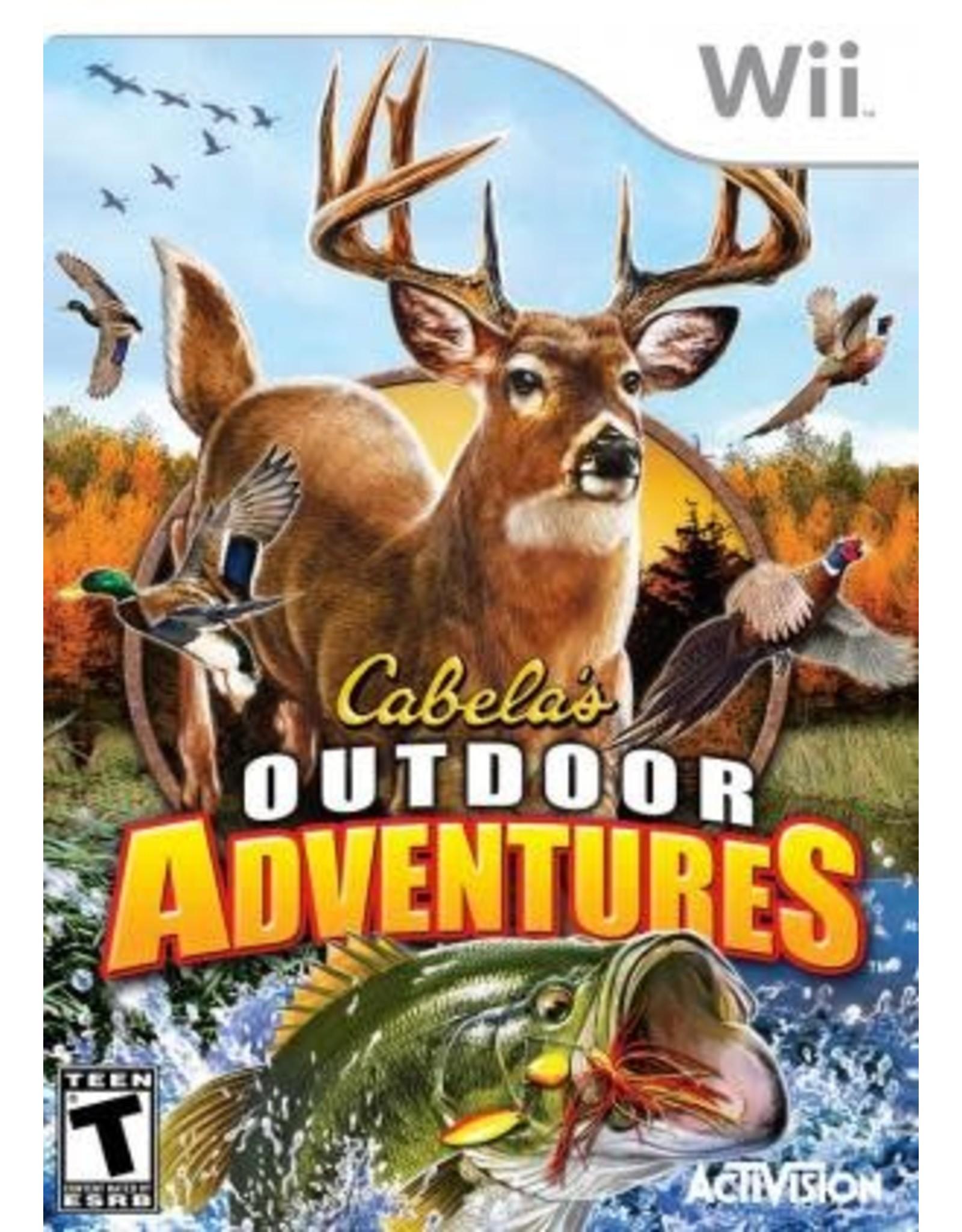 Wii Cabela's Outdoor Adventures (CiB)
