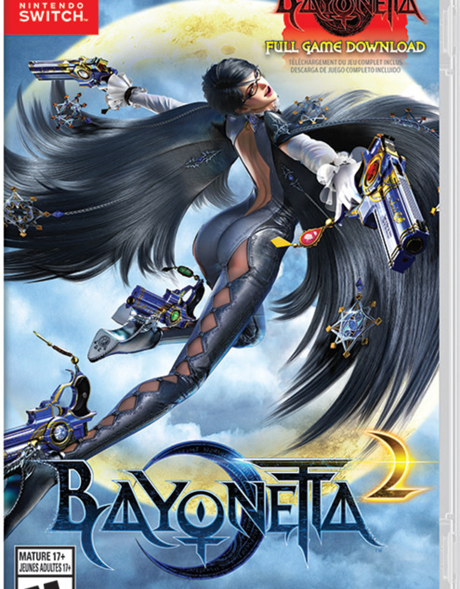 Nintendo Switch Bayonetta 2 (Used, NO DLC)