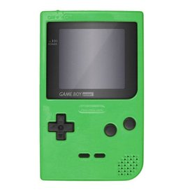 GameBoy Game Boy Pocket Console (Green, New Screen)