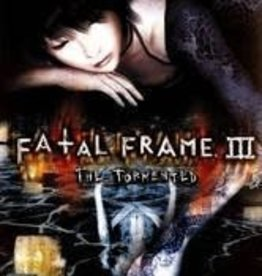 Playstation 2 Fatal Frame III Tormented (Brand New Sealed)