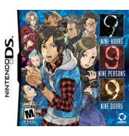Nintendo DS 999: 9 Hours, 9 Persons, 9 Doors (CiB)