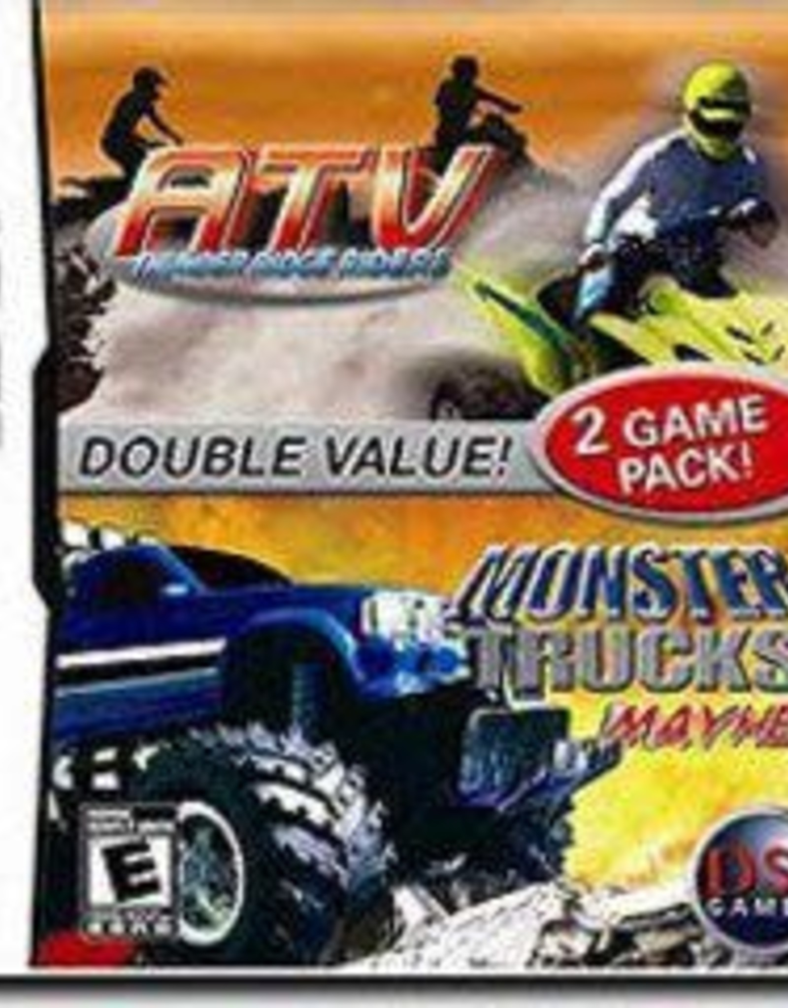 Nintendo DS ATV Thunder Ridge Riders and Monster Truck Mayhem