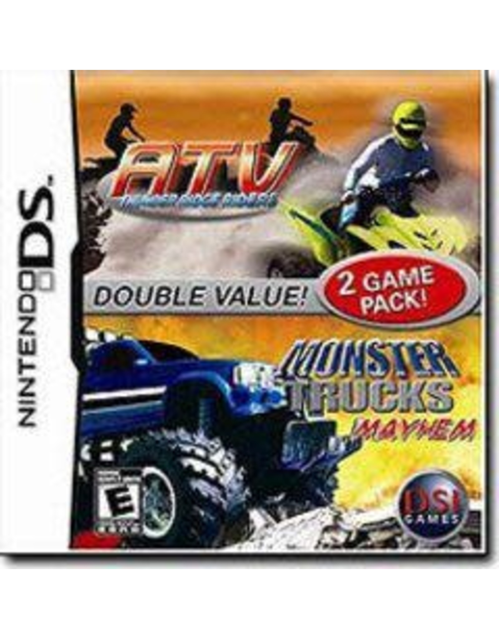 Nintendo DS ATV Thunder Ridge Riders and Monster Truck Mayhem (CiB)