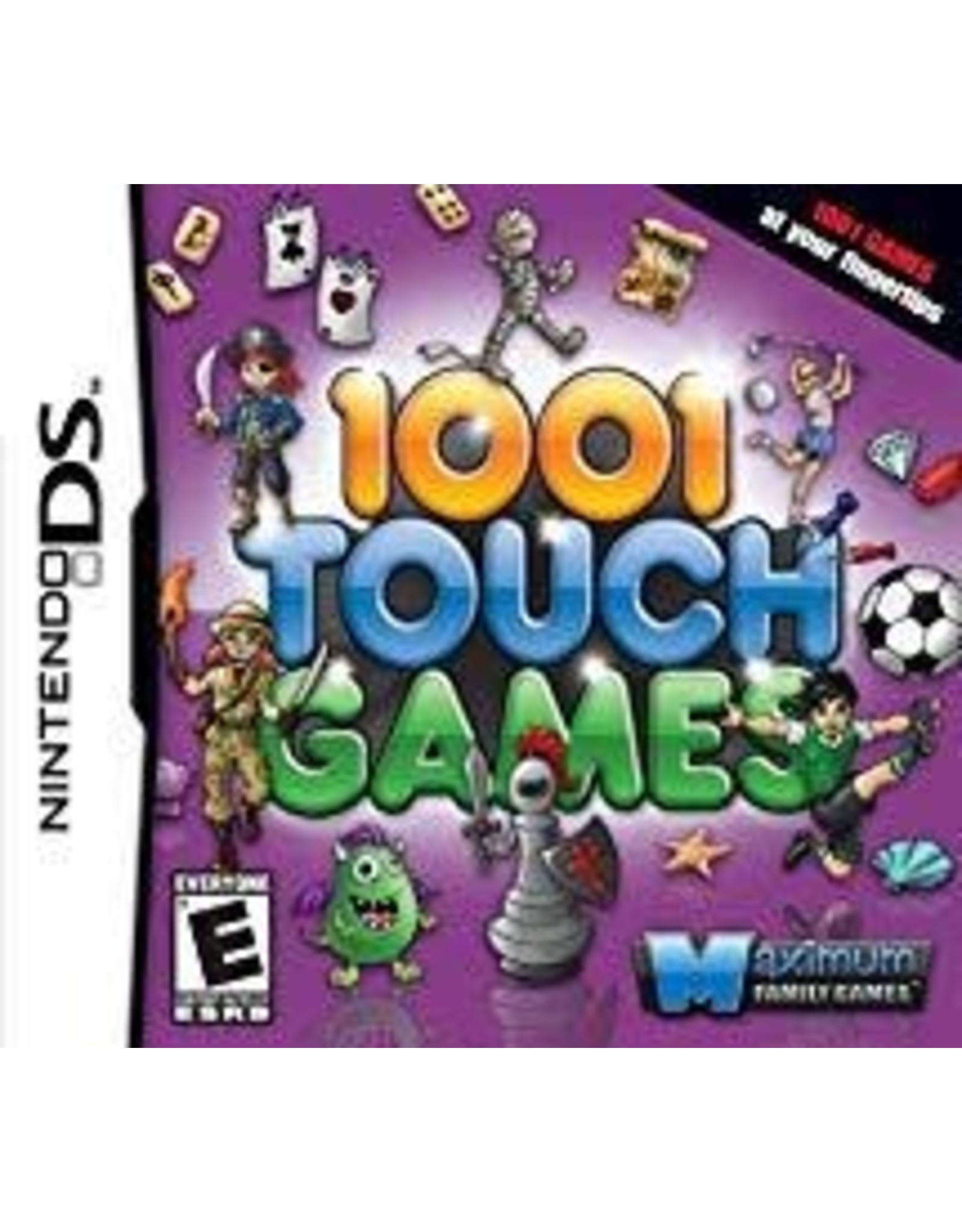 Nintendo DS 1001 Touch Games