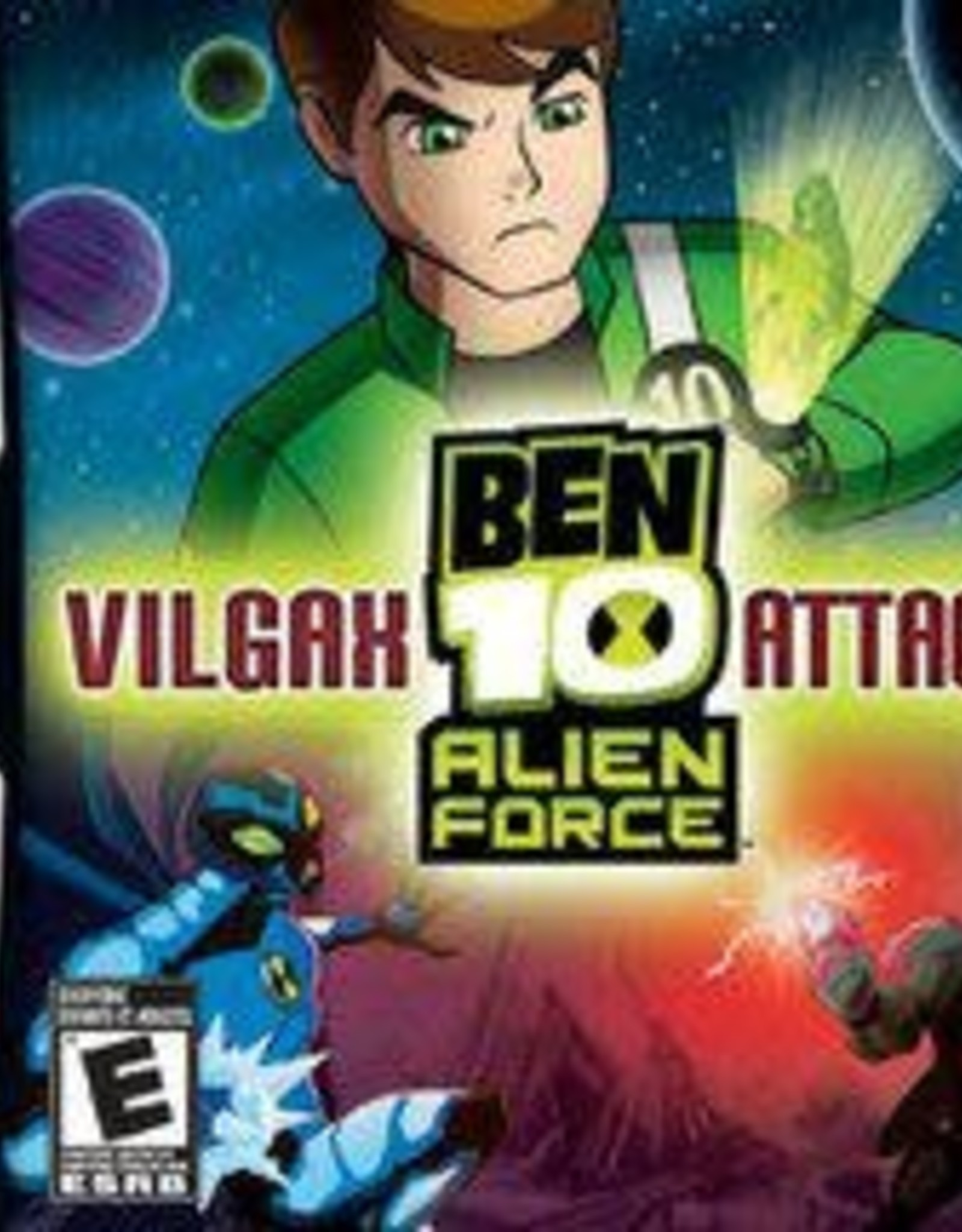 Nintendo DS Ben 10: Alien Force: Vilgax Attacks