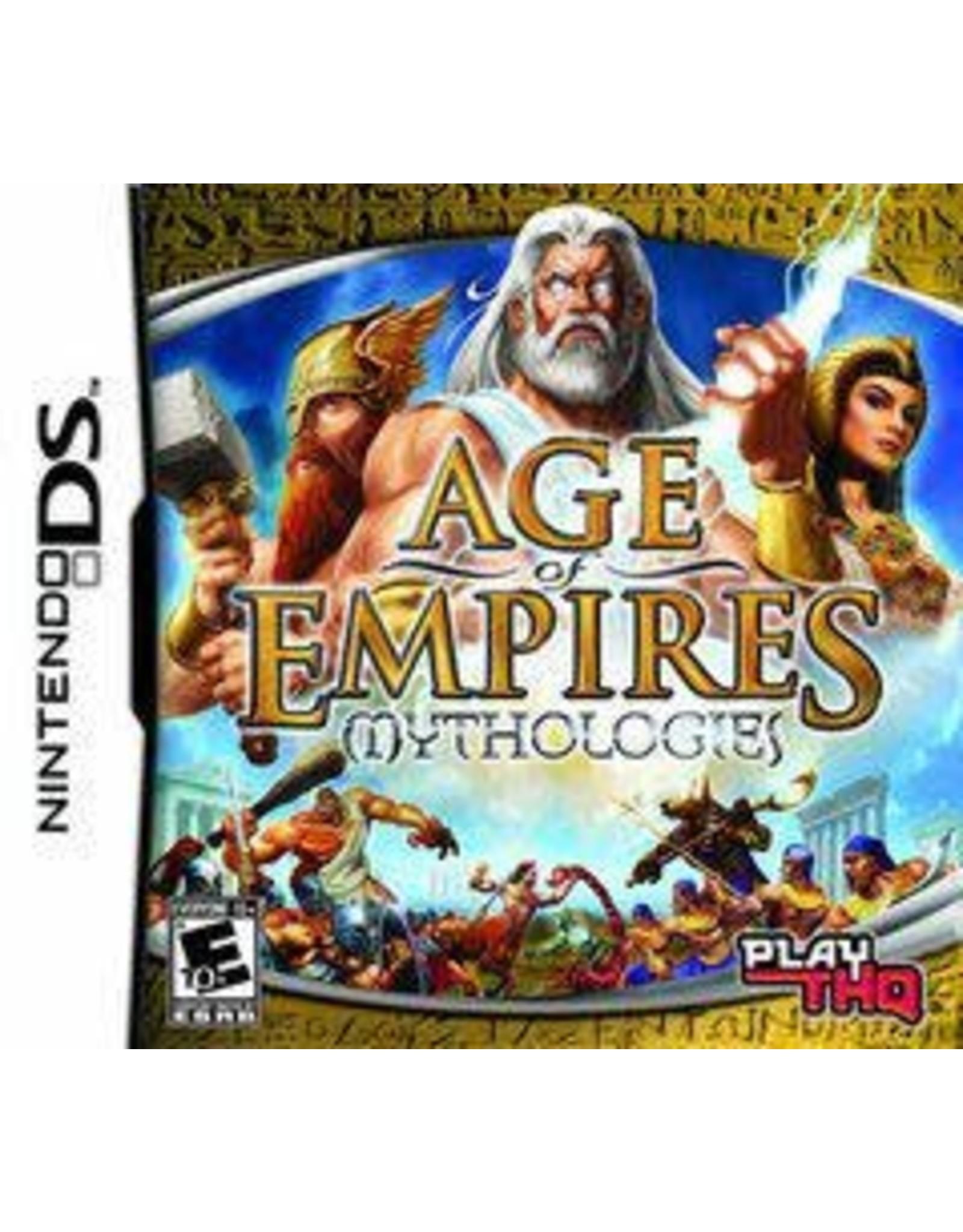 Nintendo DS Age of Empires Mythologies (CiB)