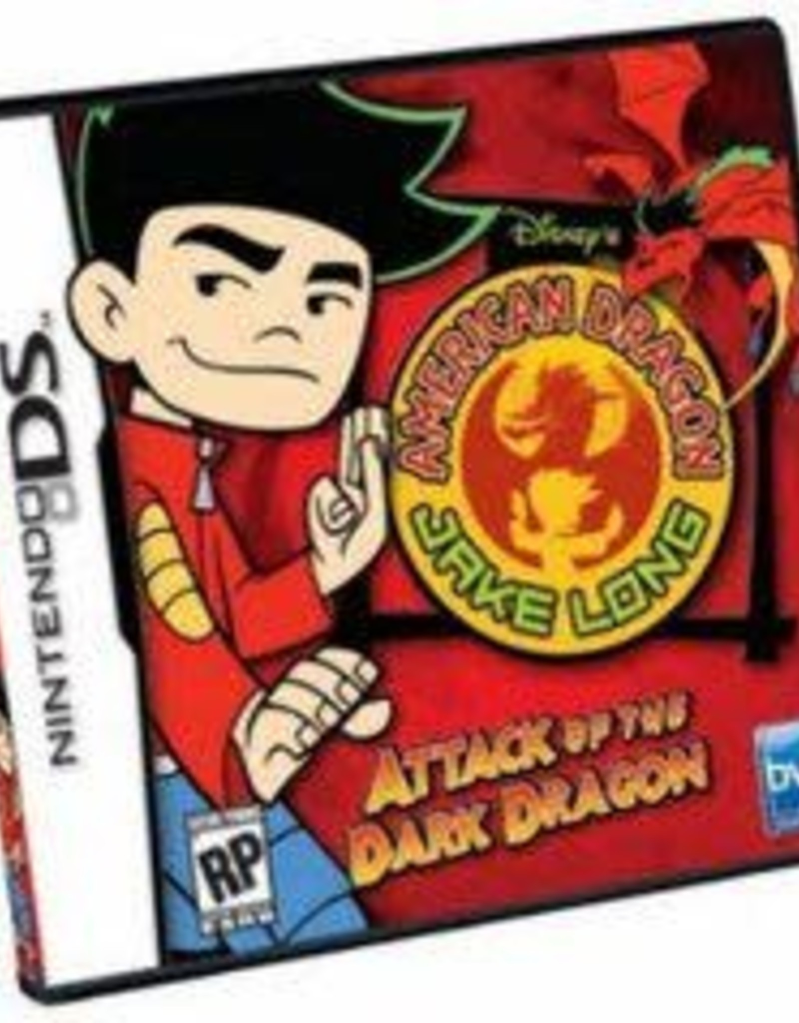 Nintendo DS American Dragon Jake Long Attack of the Dark Dragon