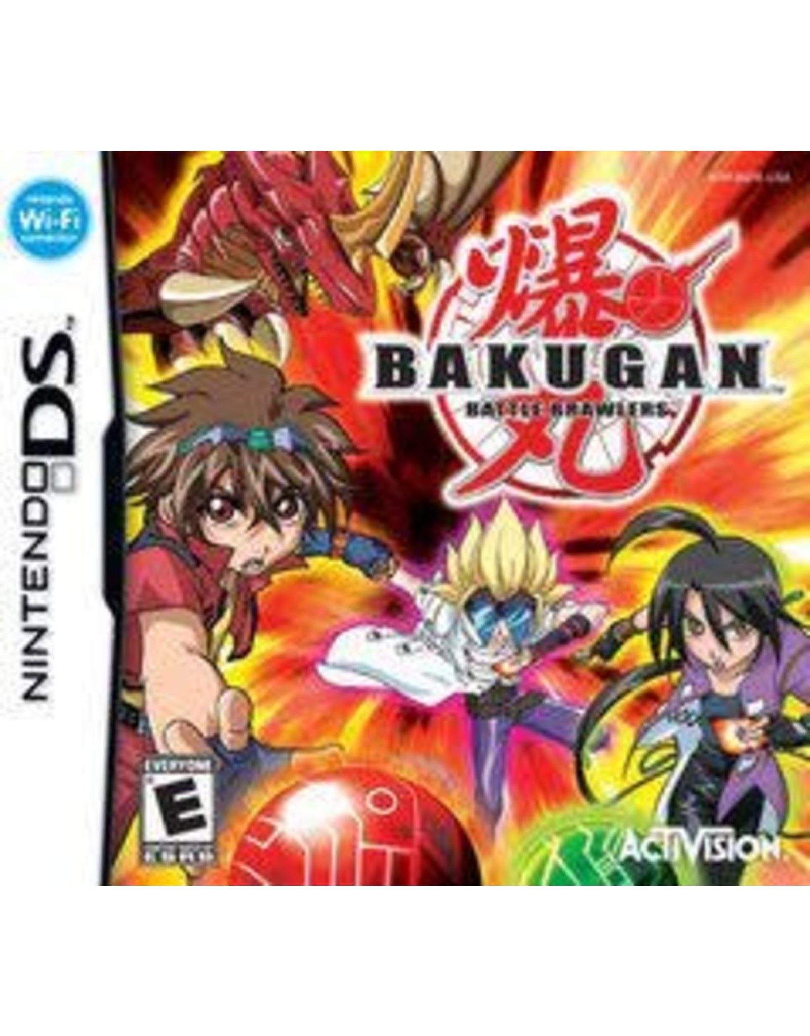 Nintendo DS Bakugan Battle Brawlers (CiB)