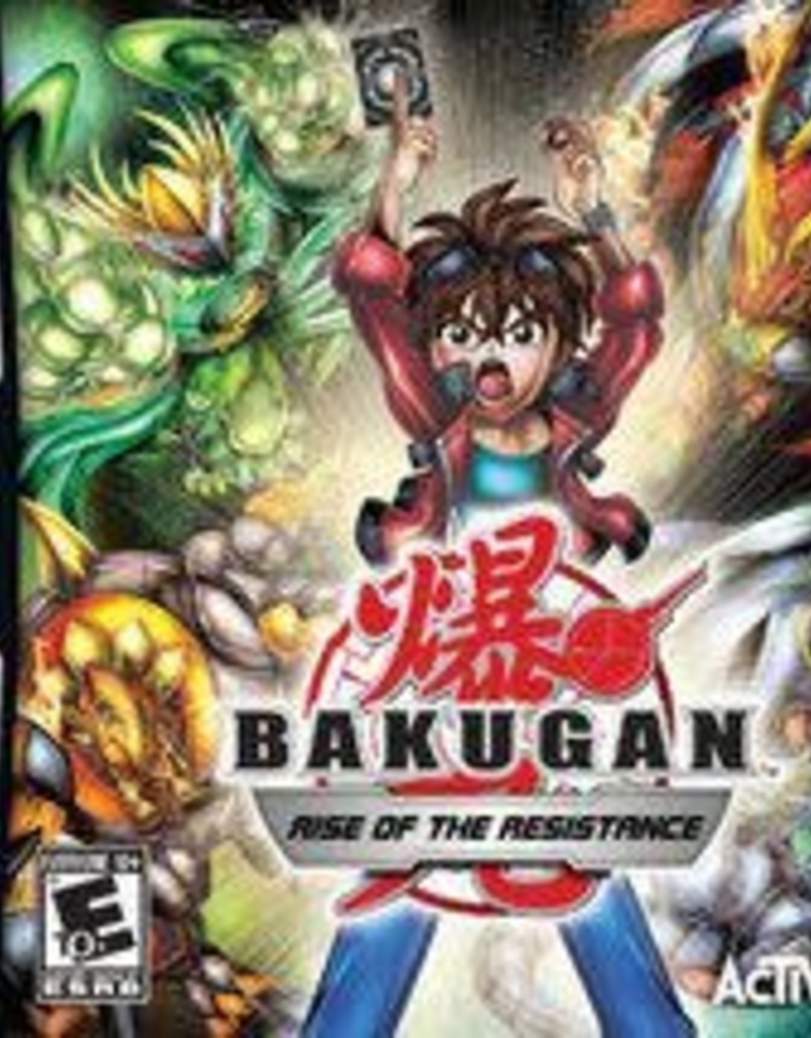 Nintendo DS Bakugan: Rise Of The Resistance