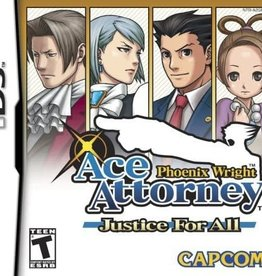 Nintendo DS Ace Attorney Phoenix Wright Justice for All